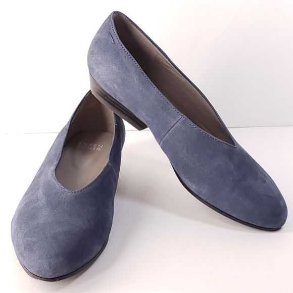 7908a21adb3 Eileen Fisher Shoes | Women Leather Ballet Flats V Cut | Poshmark
